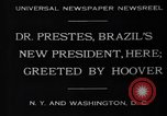 Image of Herbert Hoover United States USA, 1930, second 2 stock footage video 65675046580