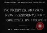 Image of Herbert Hoover United States USA, 1930, second 7 stock footage video 65675046580