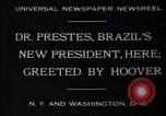 Image of Herbert Hoover United States USA, 1930, second 8 stock footage video 65675046580