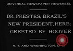 Image of Herbert Hoover United States USA, 1930, second 9 stock footage video 65675046580