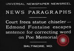 Image of Edmond Fontaine Baltimore Maryland USA, 1930, second 1 stock footage video 65675046581