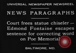 Image of Edmond Fontaine Baltimore Maryland USA, 1930, second 2 stock footage video 65675046581