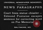 Image of Edmond Fontaine Baltimore Maryland USA, 1930, second 4 stock footage video 65675046581