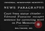 Image of Edmond Fontaine Baltimore Maryland USA, 1930, second 5 stock footage video 65675046581