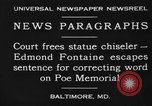 Image of Edmond Fontaine Baltimore Maryland USA, 1930, second 6 stock footage video 65675046581