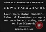 Image of Edmond Fontaine Baltimore Maryland USA, 1930, second 7 stock footage video 65675046581