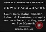 Image of Edmond Fontaine Baltimore Maryland USA, 1930, second 8 stock footage video 65675046581