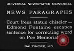 Image of Edmond Fontaine Baltimore Maryland USA, 1930, second 10 stock footage video 65675046581
