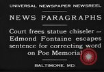 Image of Edmond Fontaine Baltimore Maryland USA, 1930, second 11 stock footage video 65675046581