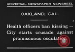 Image of kissing baned Oakland California USA, 1930, second 4 stock footage video 65675046583