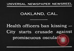 Image of kissing baned Oakland California USA, 1930, second 6 stock footage video 65675046583