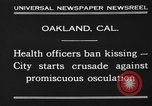 Image of kissing baned Oakland California USA, 1930, second 7 stock footage video 65675046583