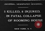 Image of Firemen rescue victims New York United States USA, 1930, second 1 stock footage video 65675046588