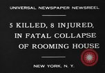 Image of Firemen rescue victims New York United States USA, 1930, second 3 stock footage video 65675046588