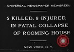 Image of Firemen rescue victims New York United States USA, 1930, second 10 stock footage video 65675046588