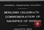 Image of celebrates commemoration Calcutta India, 1930, second 1 stock footage video 65675046589