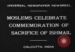 Image of celebrates commemoration Calcutta India, 1930, second 2 stock footage video 65675046589
