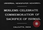 Image of celebrates commemoration Calcutta India, 1930, second 4 stock footage video 65675046589