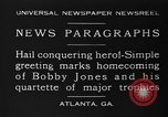 Image of Bobby Jones Atlanta Georgia USA, 1930, second 2 stock footage video 65675046592