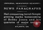 Image of Bobby Jones Atlanta Georgia USA, 1930, second 4 stock footage video 65675046592
