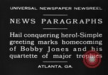 Image of Bobby Jones Atlanta Georgia USA, 1930, second 7 stock footage video 65675046592