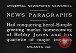 Image of Bobby Jones Atlanta Georgia USA, 1930, second 9 stock footage video 65675046592