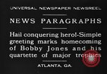Image of Bobby Jones Atlanta Georgia USA, 1930, second 11 stock footage video 65675046592