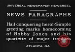 Image of Bobby Jones Atlanta Georgia USA, 1930, second 12 stock footage video 65675046592