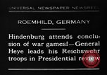 Image of General Wilhelm Heye Roemhild Germany, 1930, second 1 stock footage video 65675046594