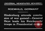 Image of General Wilhelm Heye Roemhild Germany, 1930, second 2 stock footage video 65675046594