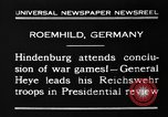 Image of General Wilhelm Heye Roemhild Germany, 1930, second 3 stock footage video 65675046594