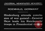 Image of General Wilhelm Heye Roemhild Germany, 1930, second 8 stock footage video 65675046594