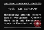 Image of General Wilhelm Heye Roemhild Germany, 1930, second 10 stock footage video 65675046594