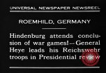 Image of General Wilhelm Heye Roemhild Germany, 1930, second 11 stock footage video 65675046594