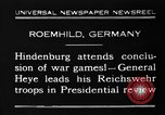 Image of General Wilhelm Heye Roemhild Germany, 1930, second 12 stock footage video 65675046594