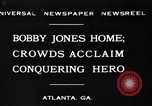Image of Bobby Jones Atlanta Georgia USA, 1930, second 2 stock footage video 65675046595