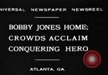 Image of Bobby Jones Atlanta Georgia USA, 1930, second 6 stock footage video 65675046595