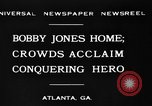 Image of Bobby Jones Atlanta Georgia USA, 1930, second 9 stock footage video 65675046595