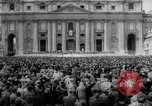 Image of Easter pilgrims Rome Italy, 1958, second 8 stock footage video 65675046599