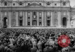 Image of Easter pilgrims Rome Italy, 1958, second 9 stock footage video 65675046599