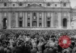Image of Easter pilgrims Rome Italy, 1958, second 10 stock footage video 65675046599