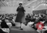 Image of fashion parade Toronto Ontario Canada, 1958, second 7 stock footage video 65675046601