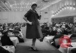 Image of fashion parade Toronto Ontario Canada, 1958, second 8 stock footage video 65675046601