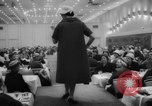 Image of fashion parade Toronto Ontario Canada, 1958, second 10 stock footage video 65675046601