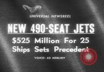 Image of 490 seat jets United States USA, 1966, second 1 stock footage video 65675046617