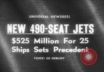Image of 490 seat jets United States USA, 1966, second 2 stock footage video 65675046617