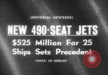 Image of 490 seat jets United States USA, 1966, second 3 stock footage video 65675046617