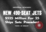 Image of 490 seat jets United States USA, 1966, second 4 stock footage video 65675046617