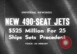 Image of 490 seat jets United States USA, 1966, second 5 stock footage video 65675046617