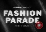 Image of fashion parade Budapest Hungary, 1966, second 2 stock footage video 65675046620